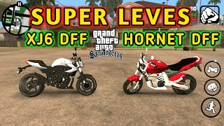 "GTA SA Android Mod XJ6 2013 ""DFF"" + HORNET ""DFF"" ( SUPER LEVES ) + TUTORIAL"