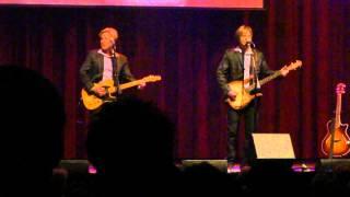 Matthew and Gunner Nelson sing  Fools Rush In