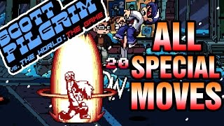 All Special Attacks: Scott Pilgrim vs the World The Game