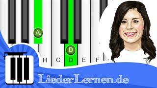 Lena Meyer Landrut - Wild & Free - Klavier lernen - Musiknoten - Akkorde