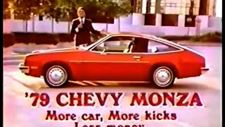 '79 Chevy Monza Hatchback Commercial (1978)