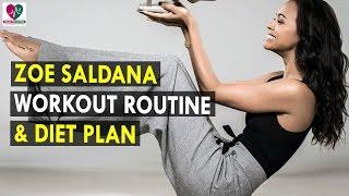 Zoe Saldana Workout Routine & Diet Plan    Health Sutra - Best Health Tips