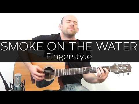 Smoke on the water (Deep Purple) - Acoustic Guitar Solo Cover ...