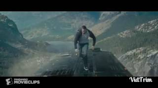 Paul walker jump from the bus FAST & FURIOUS 7 movie scene
