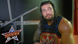 "Roman Reigns ""came to win"" against Brock Lesnar at SummerSlam: SummerSlam Exclusive, Aug. 19, 2018"