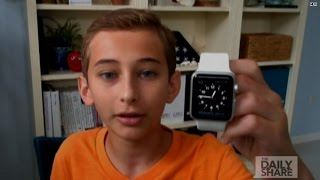 This 13-year-old reviewed the Apple Watch for us