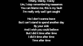 Angel - Time After Time (Lyrics)