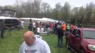 """Cef Michael """"Big Ol' Lake Party"""" video shoot @ my farm!!!"""