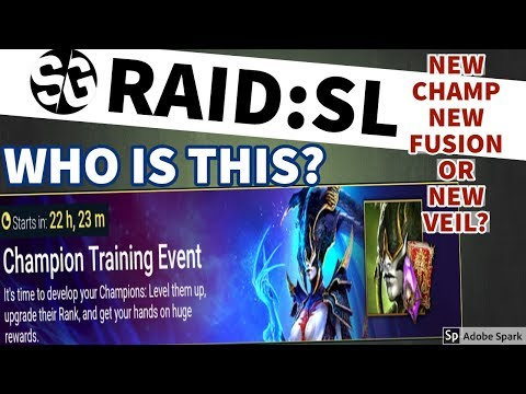 [RAID SHADOW LEGENDS] NEW EVENT! VEIL CHAMP? WHAT IS IT?