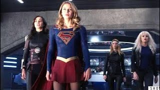 Supergirl 3x11 Kara & Saturn Girl Recruit Livewire And Psi For A Special Mission