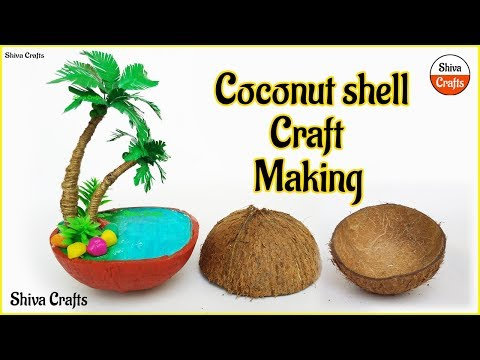 Download Thumbnail For Coconut Shell Craft Mini Beach In Coconut