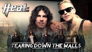 H.E.A.T - 'Tearing Down The Walls' Album announcement trailer - new album out April 2014