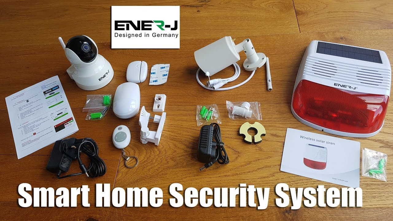 Home Security Package System Mobile City TX