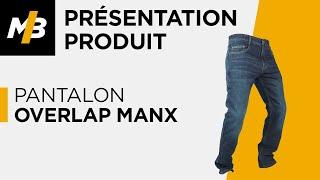Pantalon Overlap MANX, avis en vidéo par Motoblouz