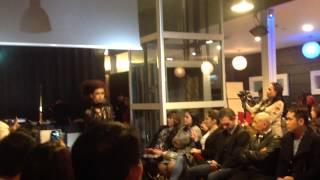Korn taylor fashion show in milano