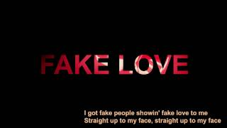 Drake - fake Love ( Lyric )  - The Best Cover of Emma Heesters
