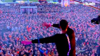 W&W @ SLAM Koningsdag 2016 (ORIGINAL VIDEO CUT) - ALLE DUITSERS ZIJN HOMO / ALL GERMANS ARE GAY