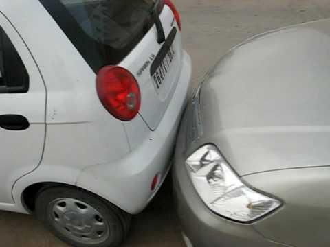 Morocco-parking idiots