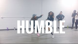 Humble - Kendrick Lamar - Choreography by: Kyndall Harris & Taylor Hatala (class footage)