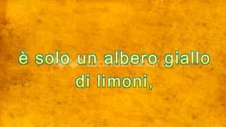 lemon tree fools garden traduzione italiano
