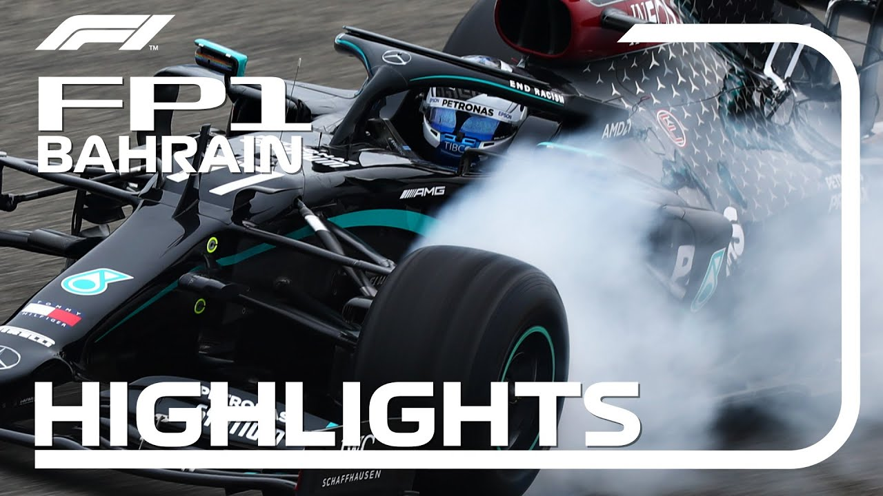 Formula1 - 2020 Bahrain Grand Prix: FP1 Highlights