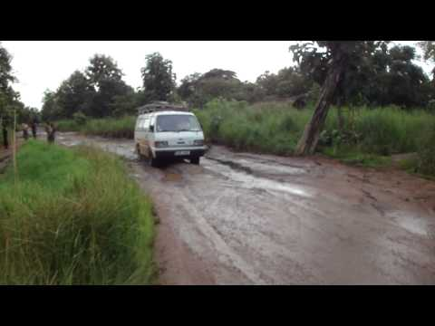 Road from Juba to Yei in South Sudan Africa 12