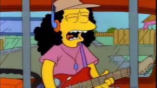Los Simpson - Otto tocando Free Bird de Lynyrd Skynyrd