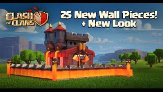 Clash of Clans - New Update! New Level 11 Walls (Sneak Peek)