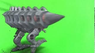 Dinossauro Robô Croma Key
