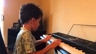 Pedro tocando Jubilosos!