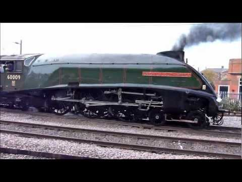 60009 Union of South Africa at York Darlington and Heighington on 19th October 2012.wmv