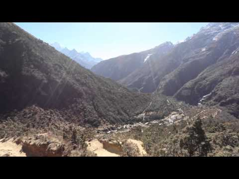View near Mende, Nepal