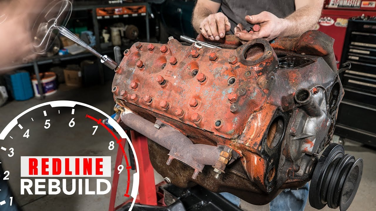 Video: (Re)Built Ford Tough: A Flathead V-8 Rebuild Time-lapse thumbnail