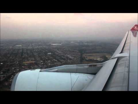 Landing in Johannesburg/South Africa/ 05.2012/ HD