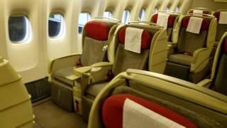 TAM (LATAM) 777-300ER cabin walkthrough