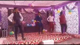 Simple Dance Step Peg Di Waashna And Label Black Song Dance || Farewell Party Dance