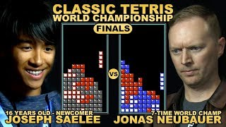 16 Y/O UNDERDOG vs. 7-TIME CHAMP - Classic Tetris World Championship 2018 Final Round