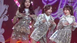 141226 KBS 가요대축제 Apink_LUV  정은지_직캠