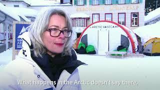 Professor Gail Whiteman of Arctic Basecamp