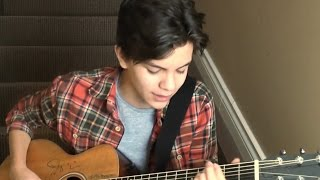 One Direction - History (Stairway Cover) - 14 yr. old Shon Burnett