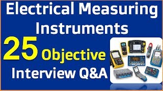Electrical Measuring Instruments objective types questions and answer