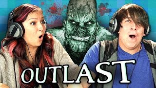 OUTLAST: PART 1 (Teens React: Gaming)