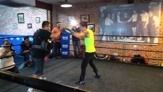 Oscar Valdez Twelve Punch Speed Combo