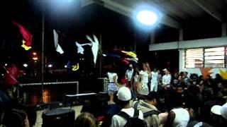 dança meninas 3°C para Consciência Negra