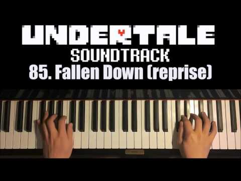 Undertale OST - 85  Fallen Down (reprise) (Piano Cover by