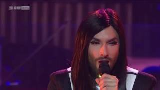 Conchita Wurst You Are Unstoppable at Sydney Opera House