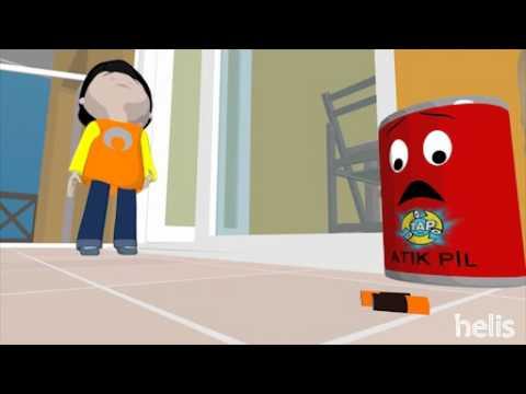 Çöplerin ve Atıkların Ayrı Toplanması - Helis Animasyon