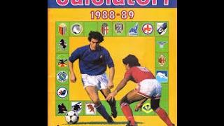 """Sfoglio veloce """"Calciatori 1988-89"""" ORIGINALE Completo"""