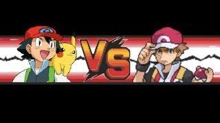 Pokemon: Red VS Ash (Kanto-Team) width=