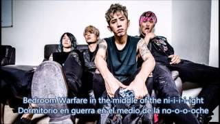 ONE OK ROCK - Bedroom Warfare -sub español + yrics
